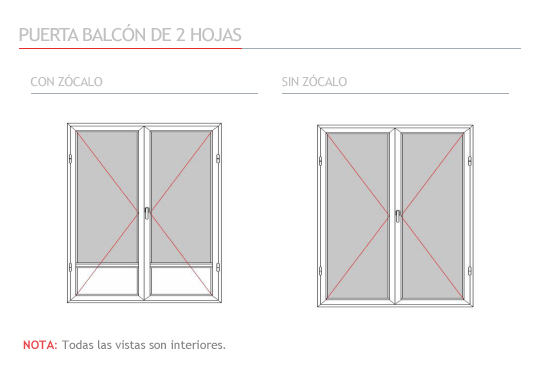 Aplicaci n fers n ventanas for Ventana balcon medidas