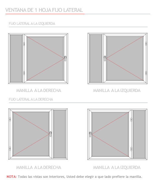 Medidas estandar de ventanas simple medidas de puertas y for Medidas estandar de ventanas argentina